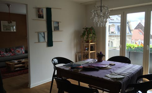 Apartment for rent from 19 Jan 2018 (Rue de Mutzig, Strasbourg)
