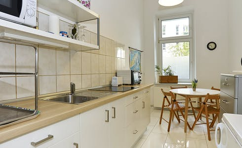 Habitación de alquiler desde 15 ene. 2018 hasta 15 dic. 2018 (Finowstraße, Berlin)