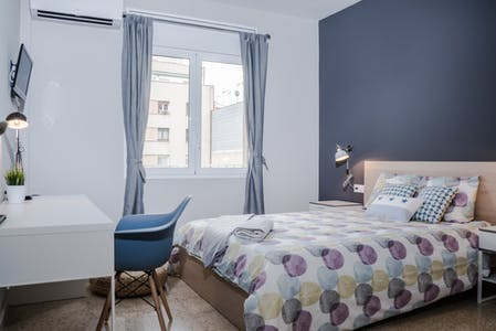 Private room for rent from 01 Dec 2019 (Carrer d'Aragó, Barcelona)