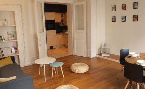 Appartement à partir du 18 nov. 2017  (Rue du Faubourg National, Strasbourg)