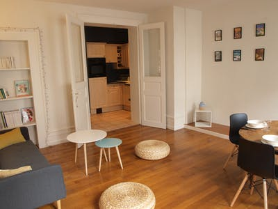 Apartment for rent from 25 Apr 2019 (Rue du Faubourg National, Strasbourg)