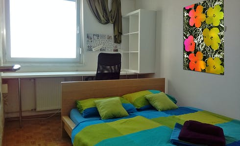 Room for rent from 08 Jul 2018 (Vojkova cesta, Ljubljana)