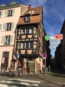 Available from 24 Dec 2019 (Rue Sainte-Madeleine, Strasbourg)