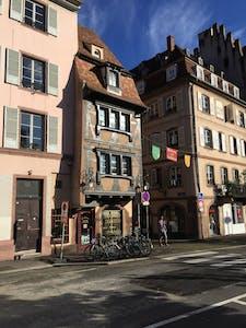 Appartement te huur vanaf 21 okt. 2018 (Rue Sainte-Madeleine, Strasbourg)