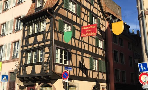Apartment for rent from 01 Oct 2018 (Rue Sainte-Madeleine, Strasbourg)