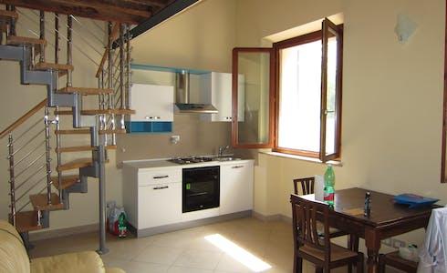 Appartement te huur vanaf 23 feb. 2018 (Via Fiorentina, Siena)