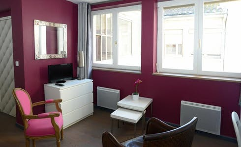 Studio for rent from 19 Jan 2018 (Rue de Brest, Lyon)