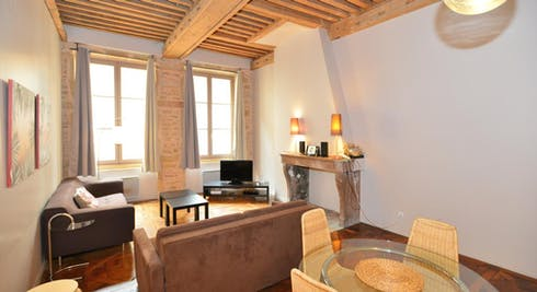 Apartment for rent from 22 Oct 2017  (Rue Tupin, Lyon)