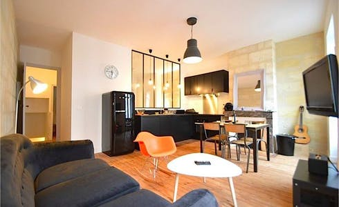 Apartment for rent from 19 Nov 2017  (Rue Théodore Ducos, Bordeaux)