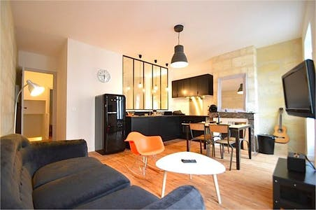 Apartment For Rent From 30 Aug 2017 (Rue Théodore Ducos, Bordeaux)