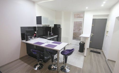 Apartment for rent from 19 Nov 2017  (Rue Courbin, Bordeaux)