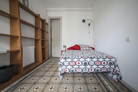 单人间租从01 7月 2020 (Carrer de Balmes, Barcelona)