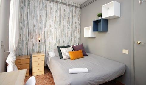 Privé kamer te huur vanaf 01 mrt. 2020 (Carrer de Roger de Llúria, Barcelona)