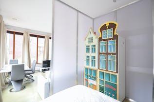 Appartement à partir du 17 mars 2019 (Vlinderstraat, Rotterdam)