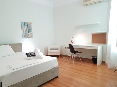 Room for rent from 15 Feb 2018  (Trias, Athina)