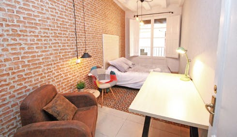 Private room for rent from 22 Feb 2020 (Carrer d'en Rauric, Barcelona)