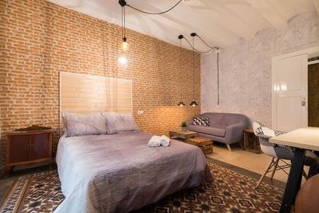 Private room for rent from 31 Dec 2019 (Carrer d'en Rauric, Barcelona)