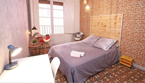 Room for rent from 01 Dec 2018 (Carrer d'en Rauric, Barcelona)