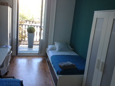 Shared room for rent from 22 Sep 2019 (Plaza Alonso Martínez, Madrid)