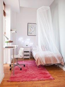 Habitación privada de alquiler desde 05 abr. 2020 (Plaza Alonso Martínez, Madrid)