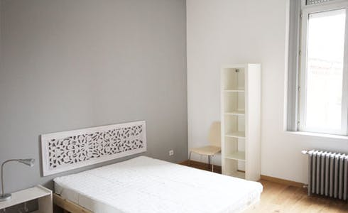 Room for rent from 18 Nov 2017  (Rue Charles Quint, Roubaix)
