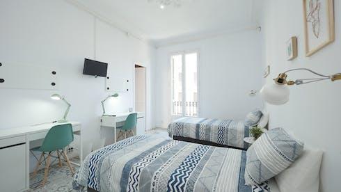 Stanza condivisa in affitto a partire dal 13 mag 2020 (Carrer Gran de Gràcia, Barcelona)