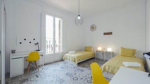 Shared room for rent from 01 May 2020 (Carrer Gran de Gràcia, Barcelona)