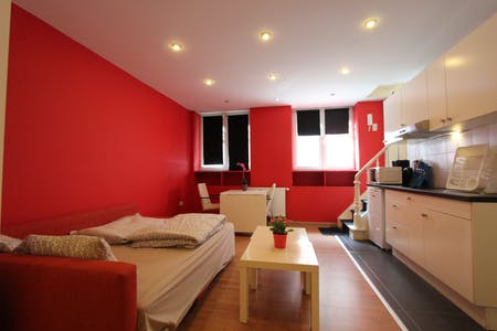 单间公寓租从01 1月 2018  (John Waterloo Wilsonstraat, Brussels)