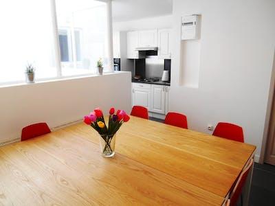 Quarto privativos para alugar desde 09 mar 2020 (Rue Saint-Jean-Baptiste de la Salle, Lille)