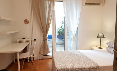 Room for rent from 16 Sep 2018  (Kipselis, Athina)