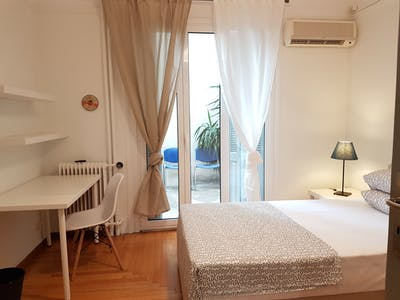 Private room for rent from 16 Feb 2020 (Kipselis, Athens)