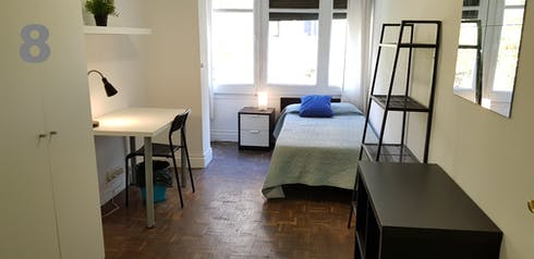 Private room for rent from 22 Jul 2019 (Travessera de Gràcia, Barcelona)