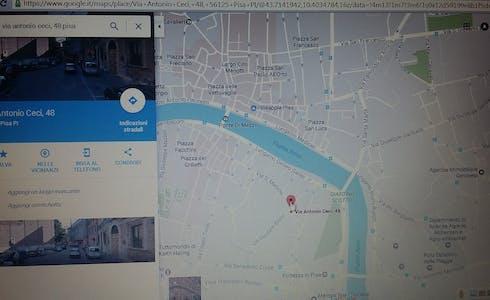 合租房间租从01 2月 2019 (Via Antonio Ceci, Pisa)