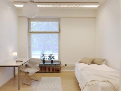 Mehrbettzimmer zur Miete ab 26 Juni 2020 (Mannerheimintie, Helsinki)