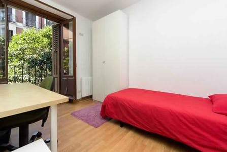 Room for rent from 22 Jun 2018 (Calle de Embajadores, Madrid)