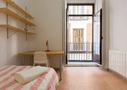 Room for rent from 31 Jan 2018  (Calle del Mesón de Paredes, Madrid)