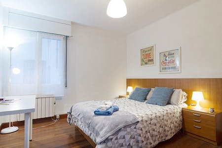 Private room for rent from 01 Jul 2020 (Cocherito de Bilbao Kalea, Bilbao)