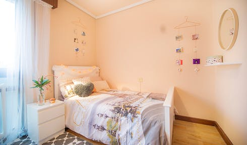 Room for rent from 01 Aug 2019  (Grupo Reverendo Vicente Garamendi, Bilbao)