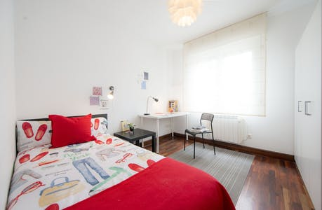Private room for rent from 01 Jan 2020 (Virgen del Pinar Etxetaldea, Bilbao)