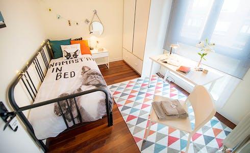 Habitación de alquiler desde 31 dic. 2017  (Euskal Herria Kalea, Getxo)
