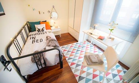Private room for rent from 01 Feb 2020 (Euskal Herria Kalea, Getxo)