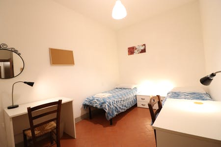 Shared room for rent from 21 Mar 2019 (Via Ghibellina, Florence)