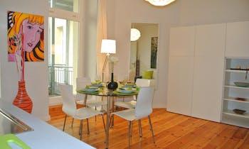Apartamento para alugar desde 28 jun 2018 (Crellestraße, Berlin)
