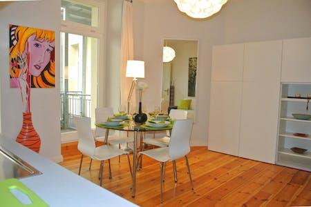 整套公寓租从28 6月 2018 直到31 1月 2019 (Crellestraße, Berlin)
