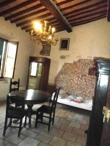 Appartement te huur vanaf 01 aug. 2018 (Via San Martino, Pisa)