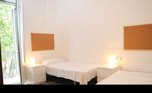 Appartement à partir du 01 janv. 2018  (Passeig de Sant Joan, Barcelona)