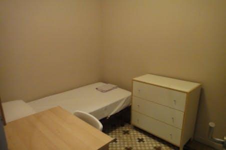Room for rent from 01 Sep 2019 (Carrer de Mallorca, Barcelona)