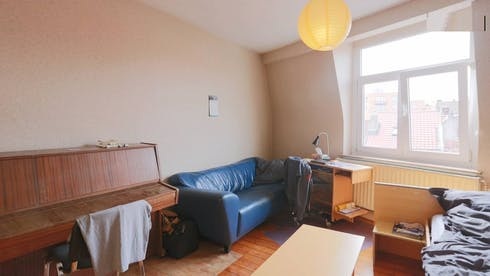 Private room for rent from 01 Sep 2019 (Rue du Champ de la Couronne, Brussels)