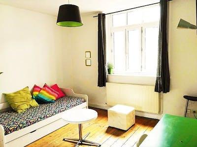 Apartment for rent from 25 Aug 2019 (Rue de l'Hôpital Militaire, Lille)