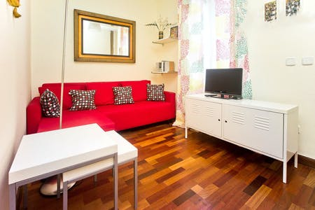 Apartamento para alugar desde 02 Sep 2019 (Calle del Barco, Madrid)